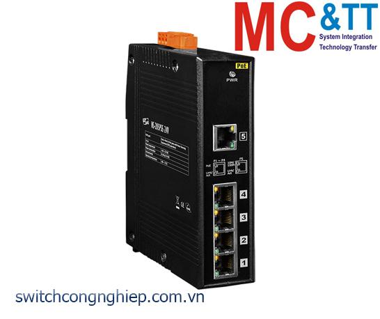 NS-205PSE-24V CR: Bộ chuyển mạch công nghiệp 5 cổng Ethernet PoE (PSE) ICP DAS