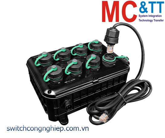 NS-208-IP67 CR: Bộ chuyển mạch công nghiệp 8 cổng Ethernet IP67 ICP DAS