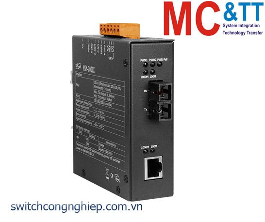 NSM-200LX CR: Bộ chuyển đổi tín hiệu Gigabit Ethernet sang quang (Single mode 1310nm SC) ICP DAS
