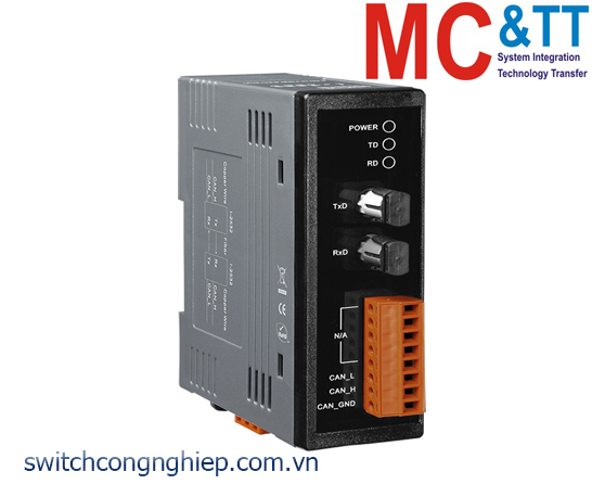 NSM-205AFT-T CR: Bộ chuyển mạch công nghiệp 4 cổng Ethernet 1 cổng quang Multi mode ST ICP DAS