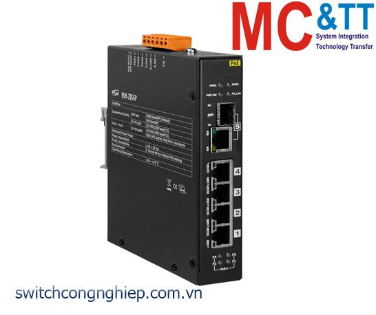 NSM-205GP CR: Bộ chuyển mạch công nghiệp 4G+1G Combo cổng Gigabit Ethernet ICP DAS