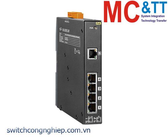 NSM-205PSE-24V CR: Bộ chuyển mạch công nghiệp 5 cổng Ethernet PoE (PSE) ICP DAS