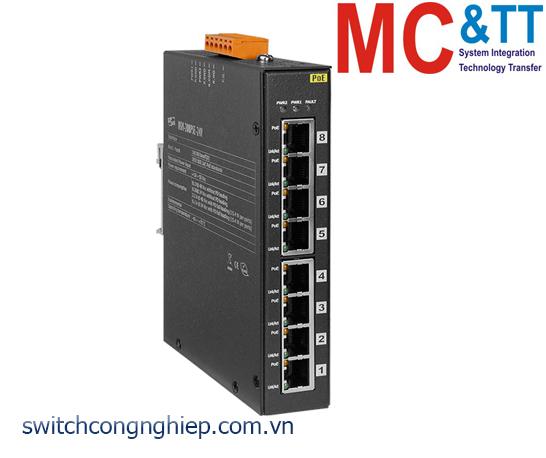 NSM-208PSE-24V CR: Bộ chuyển mạch công nghiệp 8 cổng Ethernet PoE (PSE) ICP DAS