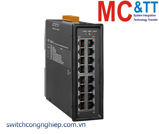 NSM-216 CR: Bộ chuyển mạch công nghiệp 16 cổng Ethernet ICP DAS