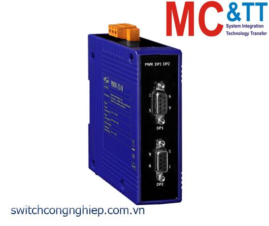PROFI-2510 CR: Bộ lặp tín hiệu PROFIBUS cách ly ICP DAS