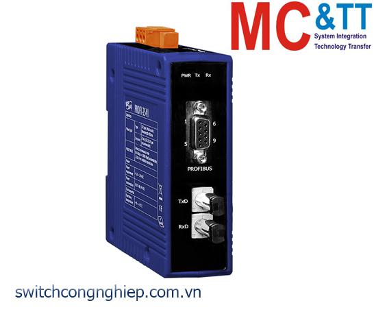 PROFI-2541 CR: Bộ chuyển đổi tín hiệu PROFIBUS sang quang multi-mode ICP DAS