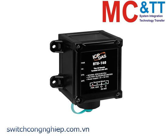 RTU-140: Modem 4G RTU tích hợp GPS ICP DAS