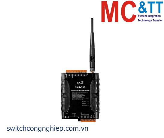 SMS-530: Bộ điều khiển cảnh báo Alarm SMS 3G ICP DAS