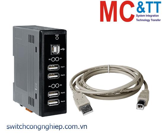 USB-2560: Hub công nghiệp 4 cổng USB 2.0 ICP DAS