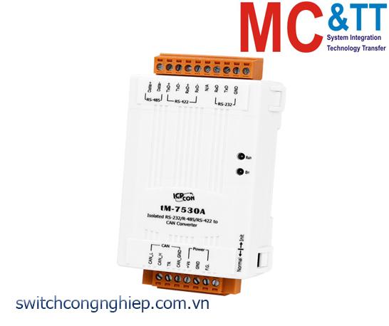 tM-7530A CR: Bộ chuyển đổi tín hiệu UART sang CAN ICP DAS