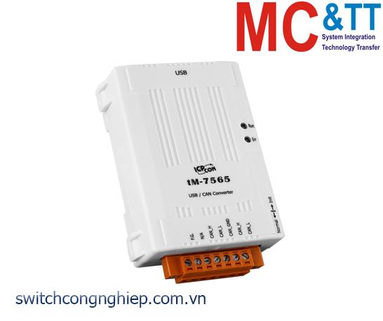 tM-7565 CR: Bộ chuyển đổi tín hiệu USB sang CAN ICP DAS