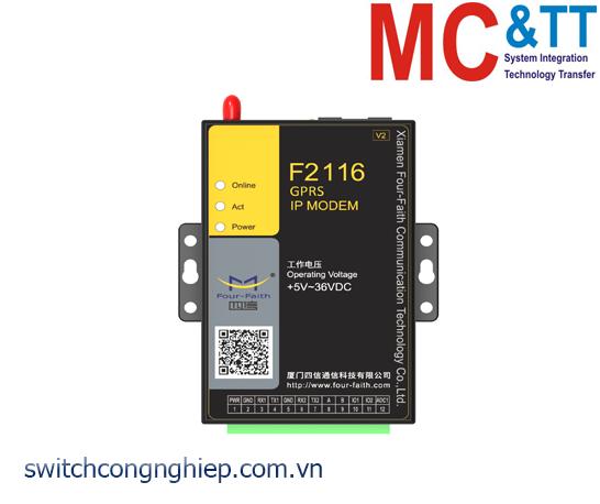 F2116 V2 GPRS IP MODEM