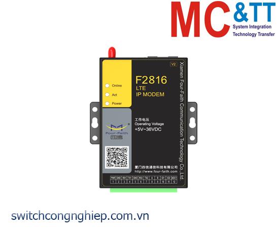 F2816 V2: 4G (LTE) IP MODEM Four-Faith