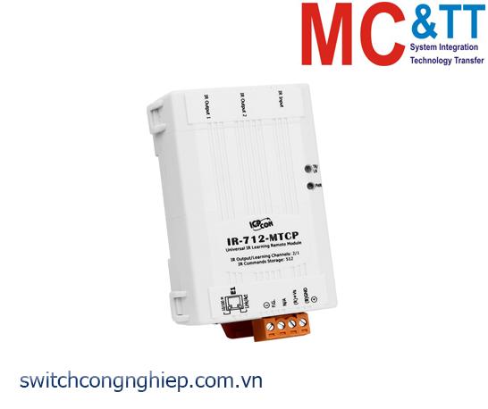IR-712-MTCP-5: Module 2 kênh đầu ra hồng ngoại IR (hỗ trợ Modbus TCP) ICP DAS