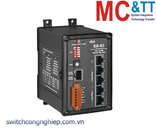 RSM-405 CR: Bộ chuyển mạch công nghiệp 5 cổng Ethernet ICP DAS
