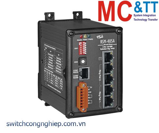 RSM-405A CR: Bộ chuyển mạch công nghiệp 5 cổng Ethernet ICP DAS