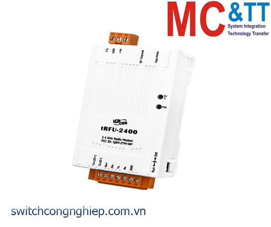 tRFU-2400 CR: Modem vô tuyến 2.4 GHz 1 cổng RS-232/RS-485/RS-422 ICP DAS