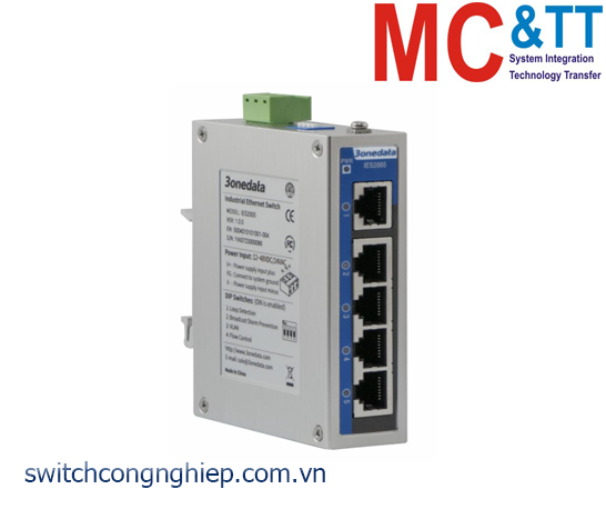 IES2005: Switch công nghiệp 5 cổng Ethernet 3Onedata