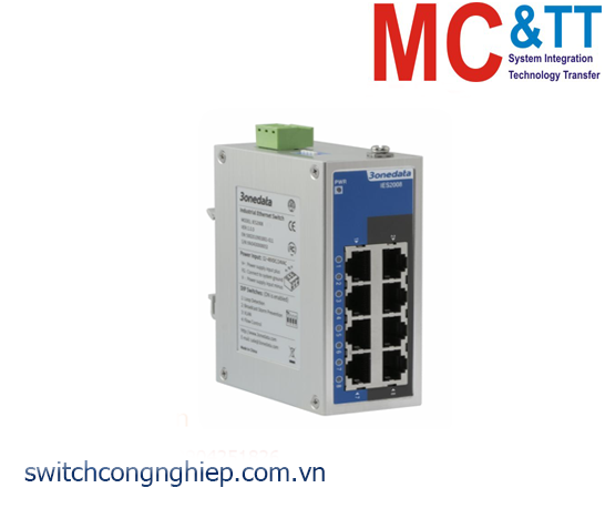IES2008: Switch công nghiệp 8 cổng Ethernet 3Onedata