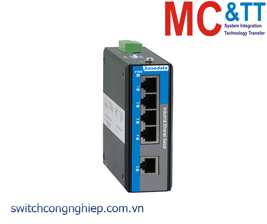Switch công nghiệp 5 cổng Ethernet 3Onedata IES2105-5T-P220